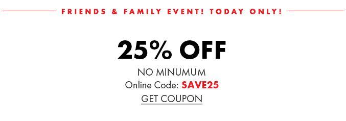25% Off No Minimum:omni:SAVE25