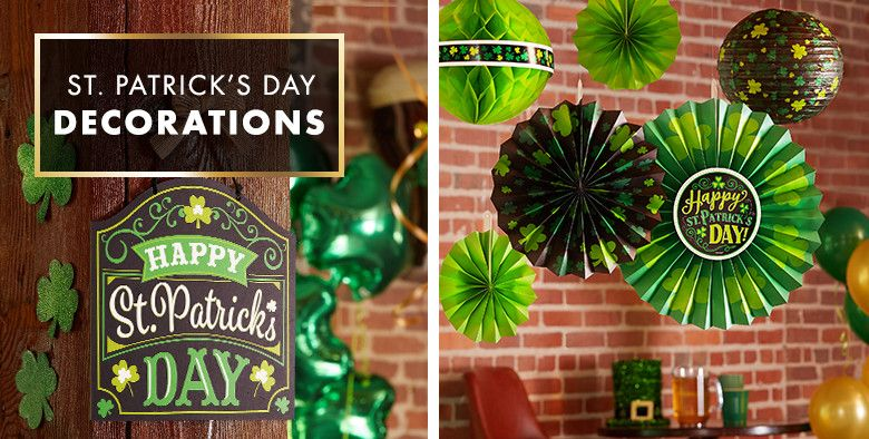 St Patrick S Day Decorations Hanging Table Amp Balloon
