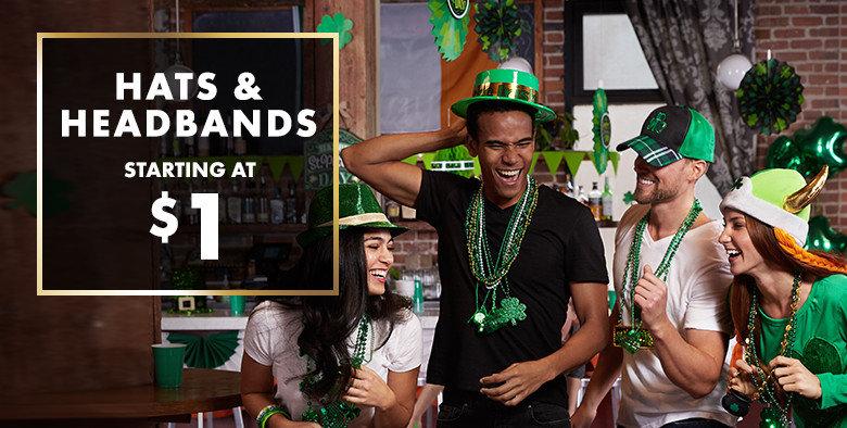 St. Patrick's Day Novelty Hats