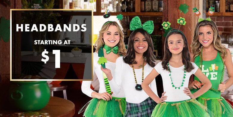 St. Patrick's Day Headbands
