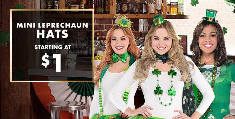 St. Patrick's Day Mini Leprechaun Hats