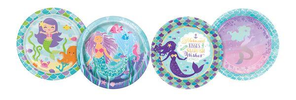 All Mermaid Birthday Themes