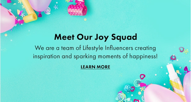 Meet the joy squad