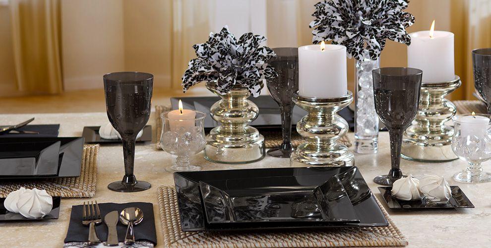 Black Premium Tableware