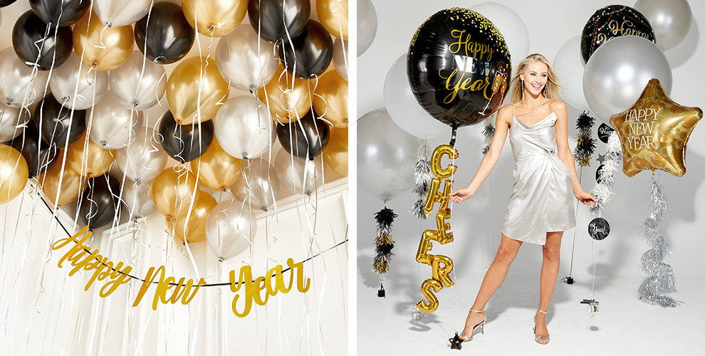 New Years Eve Balloons