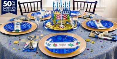 Hanukkah Celebrations Party Supplies & Hanukkah Celebrations Party Supplies   Party City