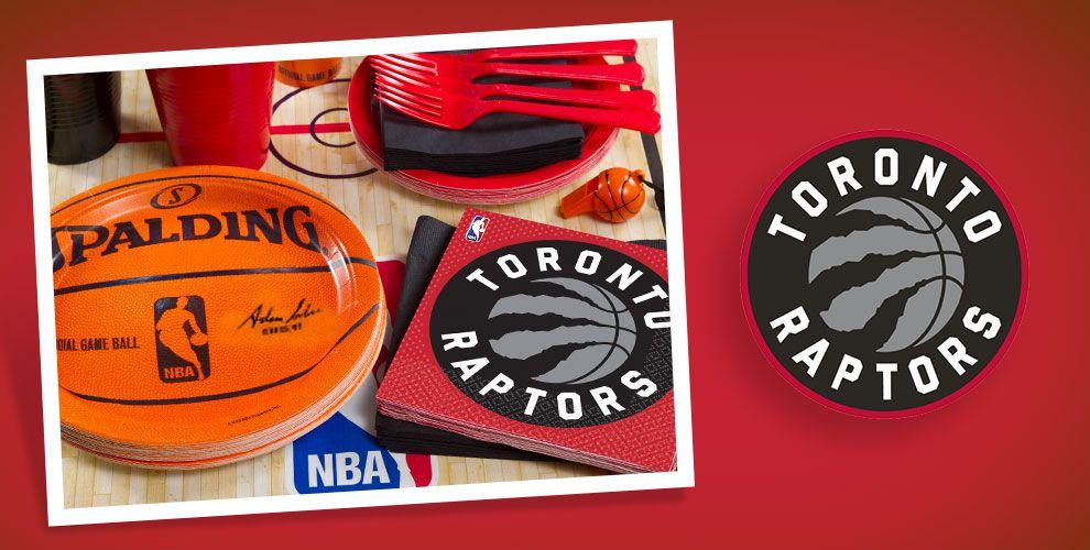 NBA Toronto Raptors Party Supplies