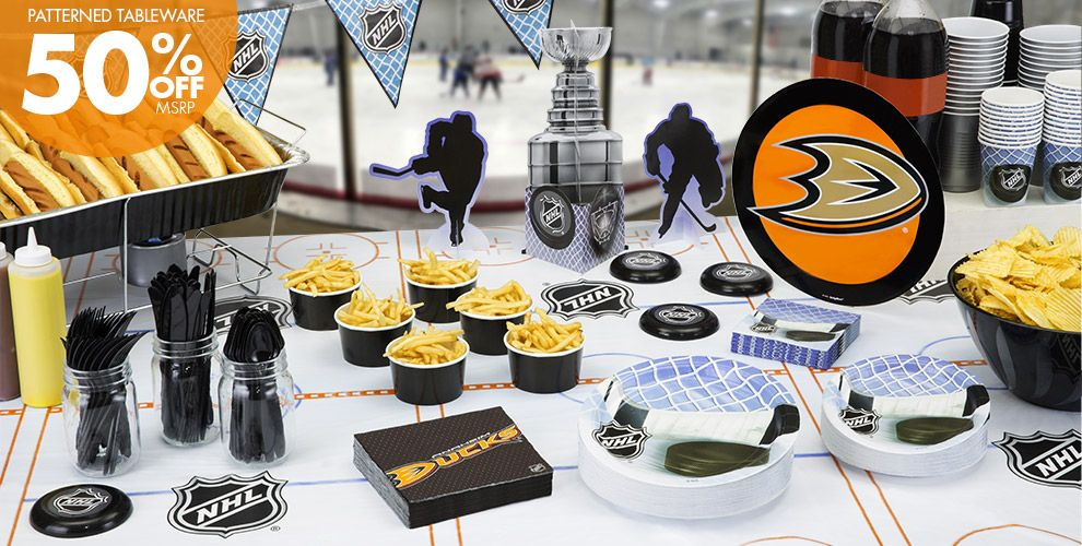 NHL Anaheim Ducks Party Supplies