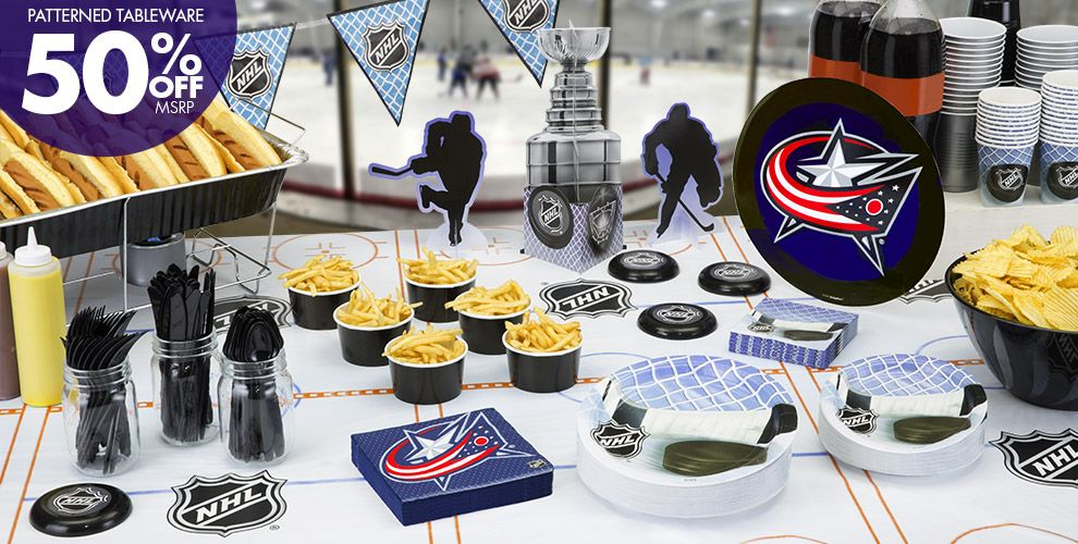 NHL Columbus Blue Jackets Party Supplies