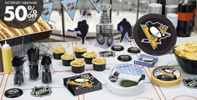 NHL Pittsburgh Penguins Party Supplies & NHL Pittsburgh Penguins Party Supplies | Party City