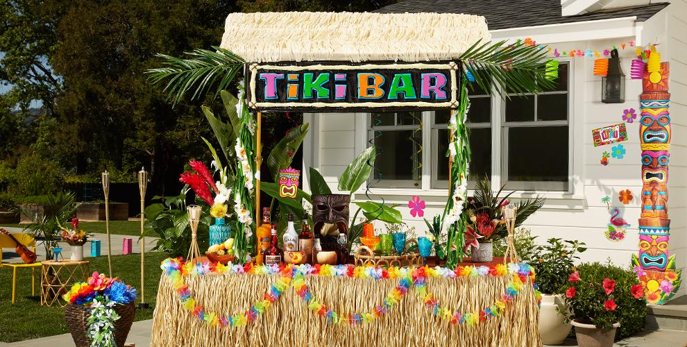 Tiki Party Theme