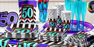 Celebrate 50th Birthday Party Supplies 50th Birthday Party City