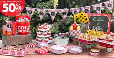 Picnic Party Theme PicnicThemed Party Supplies Party City