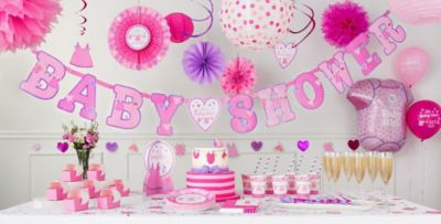 Itu0027s A Girl Baby Shower Decorations