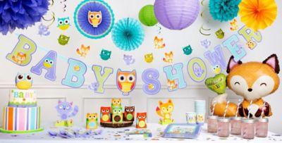 Captivating Woodland Baby Shower Decorations