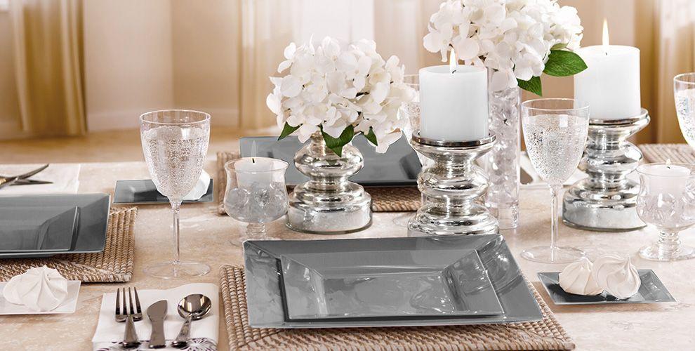 Silver Premium Tableware