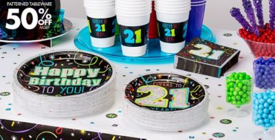 Brilliant 21st Birthday Party Supplies Decorations 21st Birthday