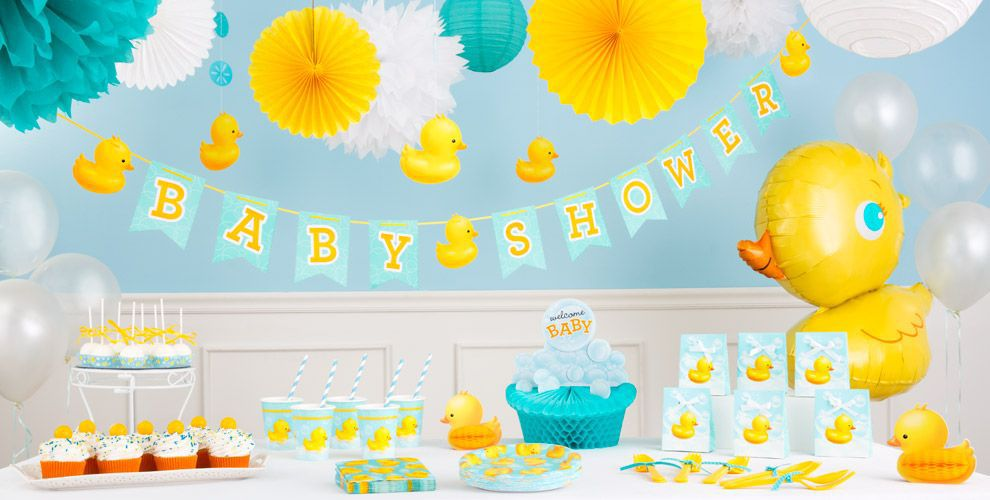 Bubble Bath Baby Shower Decorations | Party City Canada