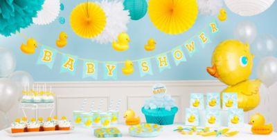Bubble Bath Baby Shower Decorations