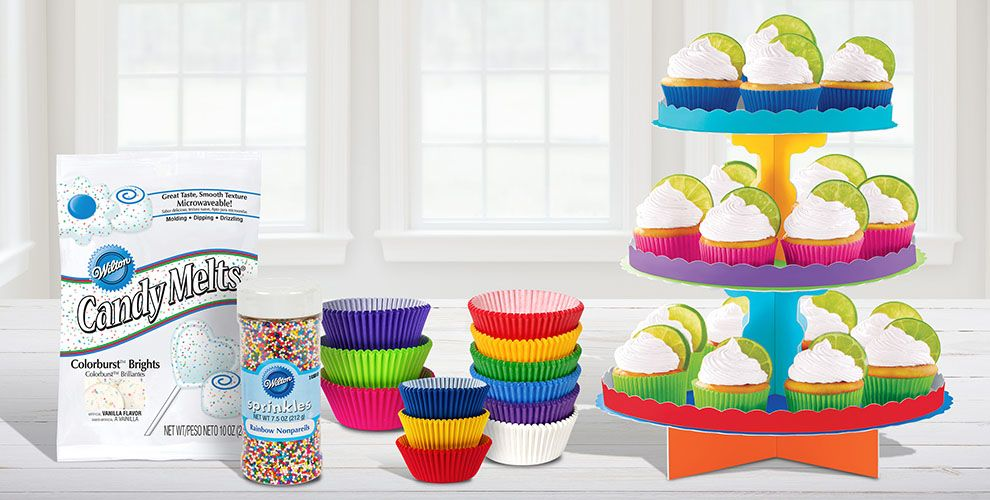 Rainbow Baking Supplies