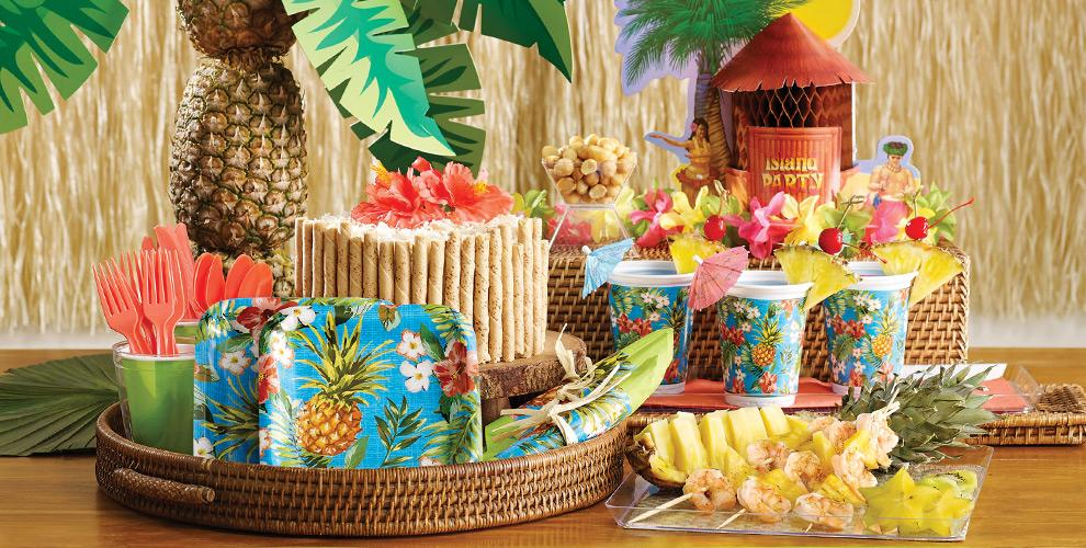 Aloha Hawaiian Party Supplies