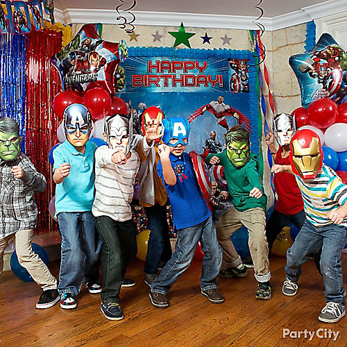 Avengers Party Ideas