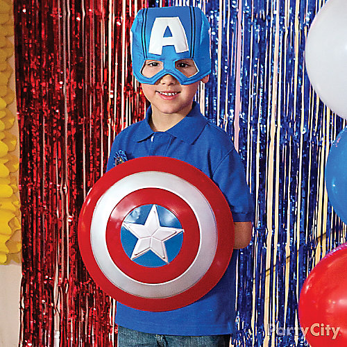 Avengers Birthday Outfit Idea