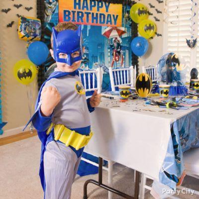 Batman Scene Setter Idea Party City Party City