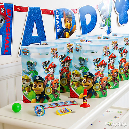 PAW Patrol Favor Pack for 8 Idea