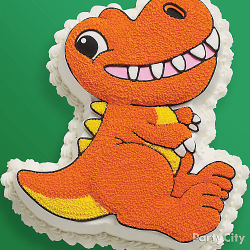 Prehistoric Dinosaur T Rex Cake Idea