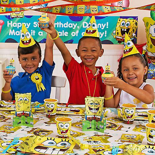 SpongeBob Party Table Idea