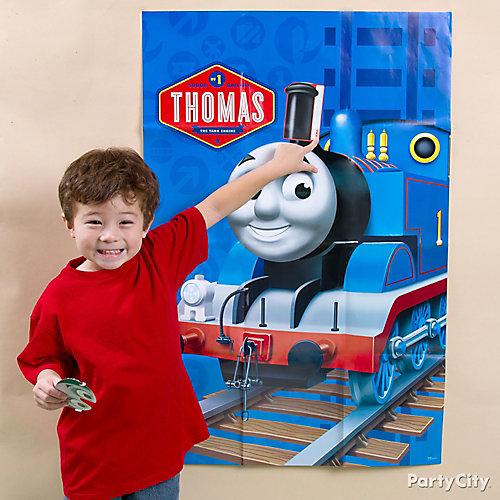 Thomas Pin It Game Idea