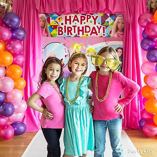 Barbie Photo Booth Idea