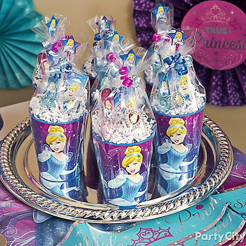 Cinderella Favor Cup Idea