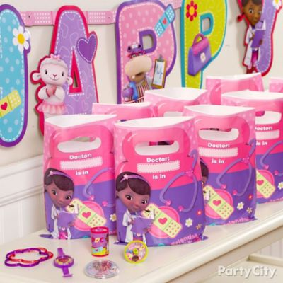 Doc McStuffins Favor Pack for 8 Idea Party City Party City