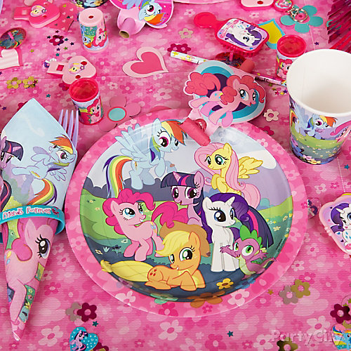 My Little Pony Place Setting Idea