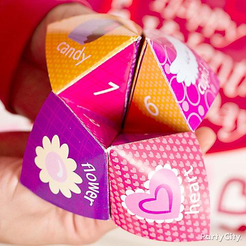 Valentines Day Activity Exchange Card Idea