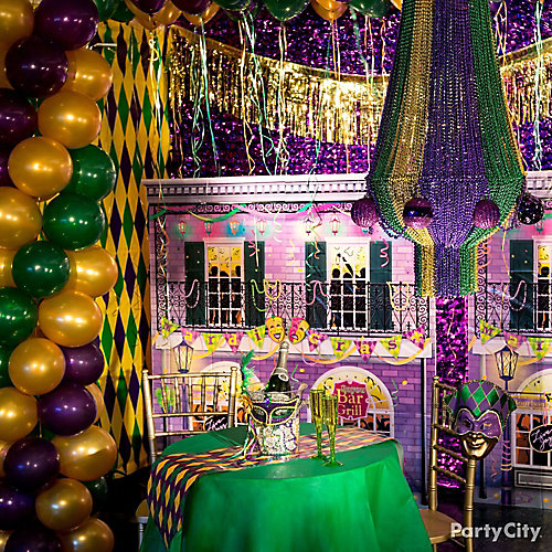 Mardi Gras Party Decorating Ideas