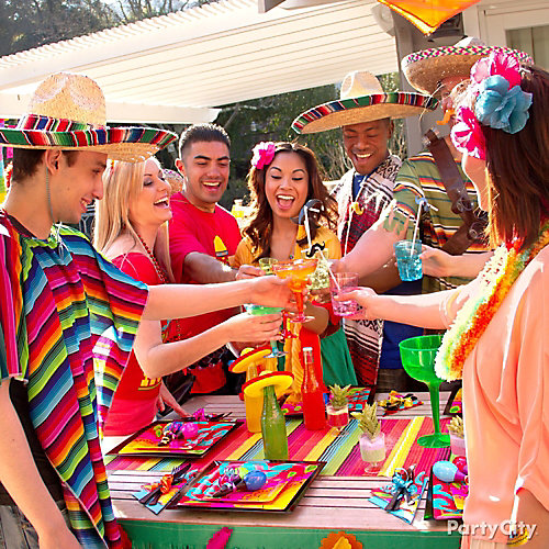 Mexican Party Drinkware Ideas