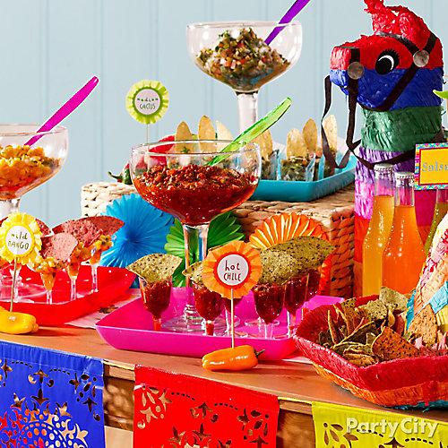 Salsa Tasting Party Idea