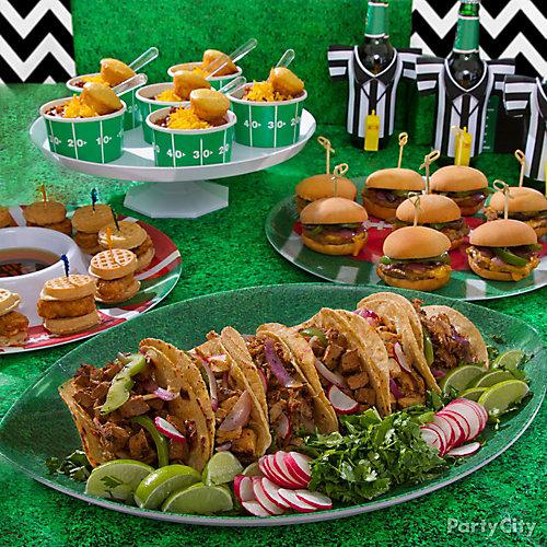 Football Tacos Idea