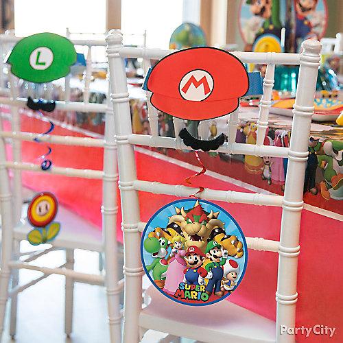 Super Mario Chair Decorating DIY