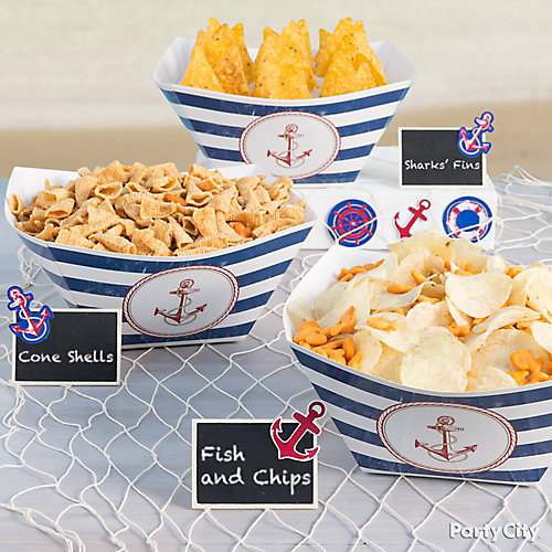 Fish and Chips Idea