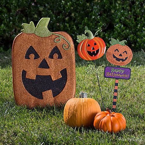 Happy Pumpkin Signs Idea
