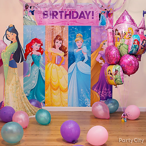 Disney Princess Scene Setter Decorating Idea