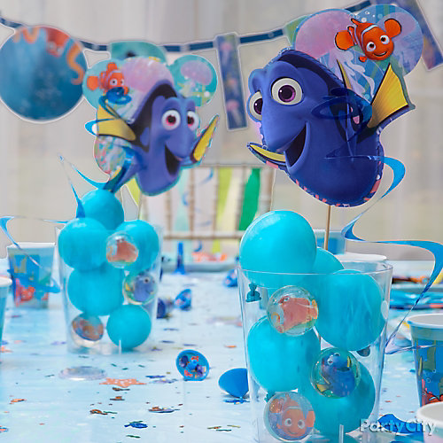 Dory Bubbly Centerpiece DIY