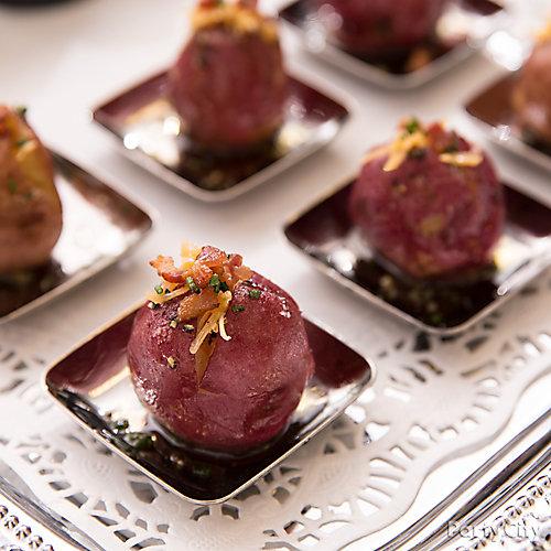 Cheesy Mini Potatoes Idea