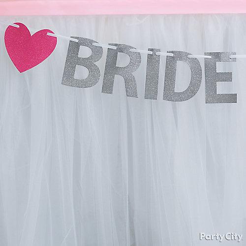Tu Tu Chic Table Skirt Idea