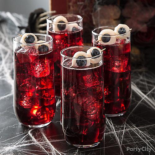 Eyeballs in Drink Idea