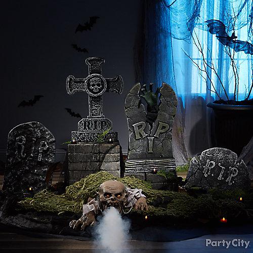 Zombie Cemetery Idea